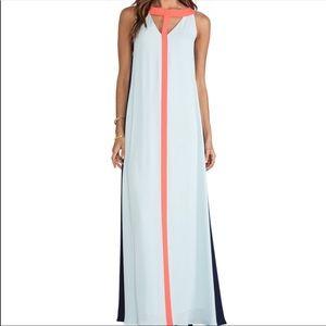 BCBGMaxAzria Dresses - BCBG MaxAzria color block maxi dress!